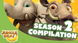 Jungle Beat Season Two Compilation [Full Episodes]