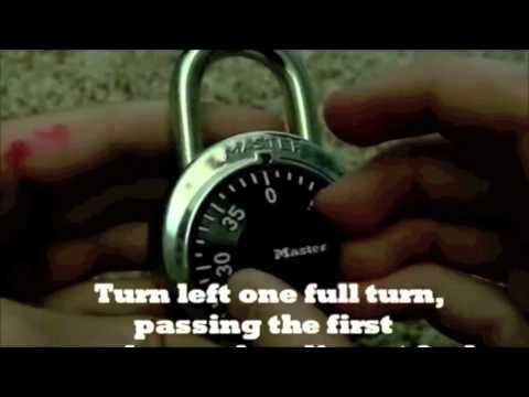 How to Unlock a Masterlock Lock