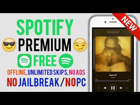 Offline, Unlimited Skips, No Ads + Much MORE! Spotify ++ BACK On iOS 11,10,9! NO Jailbreak/NO PC
