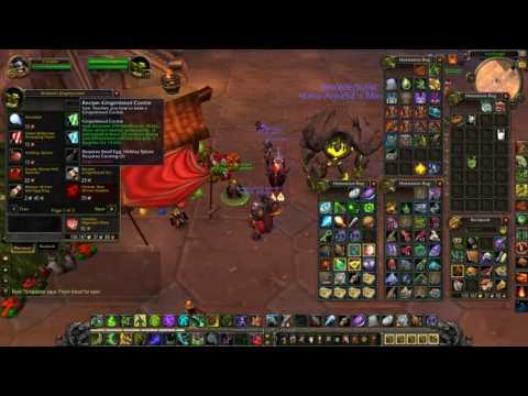 World of Warcraft The Winter Veil Gourmet Achievement Guide