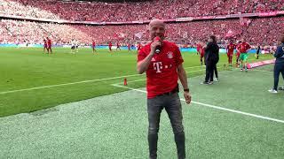 Das letzte Tor von Arjen Robben für den FC Bayern, 18.Mai 2019