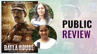 Batla House Public Review | BOI- BY- THE PEOPLE | John Abraham  | Mrunal Thakur