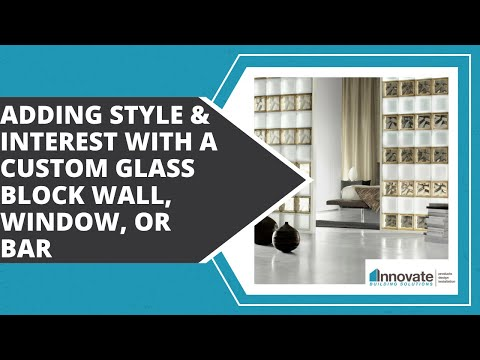 Designing a Custom Glass Block Home Bar, Kitchen, Commercial, Basement Man Cave Bars Columbus Ohio
