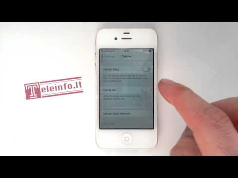 How to turn on cellular data iPhone 4, 4s, 5, 5s, 6, 6plus