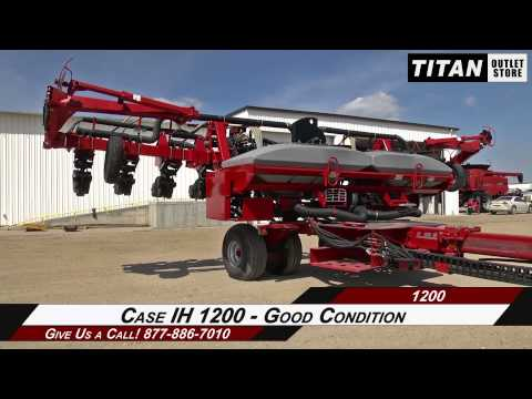 Case IH 1200 - 12R30, Bulk Fill, Hyd Drive, Markers Planter Sold on ELS!