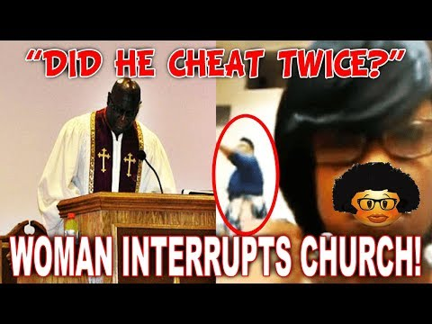 Woman Interrupts Church And Accuses Pastor Of...