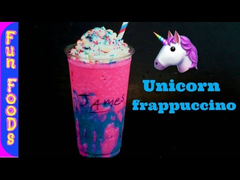 How to Make Homemade Unicorn Frappuccino | DIY Starbucks Unicorn Frappuccino