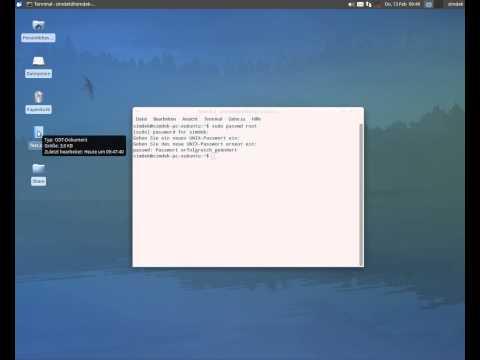 Root Passwort setzen in Ubuntu,Xubuntu,Lubuntu und Linux Mint