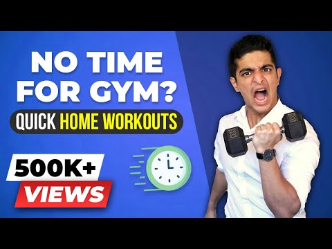 NO TIME for Gym - What Do You Do Now? BeerBiceps Home Workouts Overview