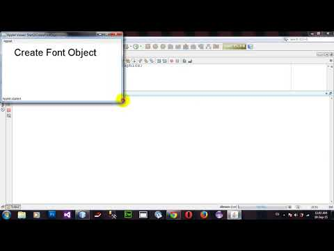 Create Font Object in Java Applet and AWT in Netbeans