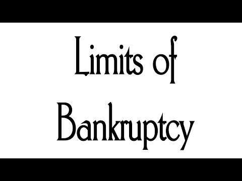 What Bankruptcy Can and Cannot Do For You - Video - $899