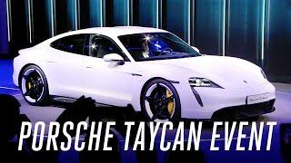 Porsche Taycan event in 5 minutes