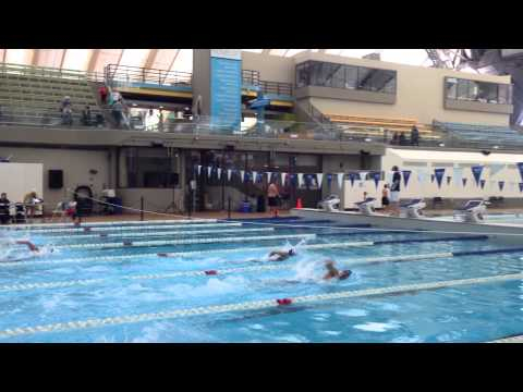 Calgary Masters Swim Meet 2015 Lisa Brown 100 Free
