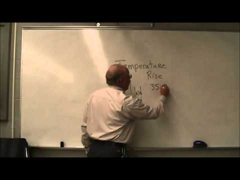 Two Minute Tutor What is Temperature Rise with Tom Kleinman