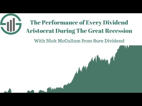 The Performance Of Every Dividend Aristocrat During The Great Recession