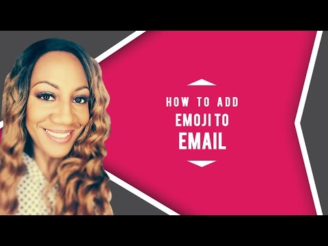 How To Add Emoji To Email