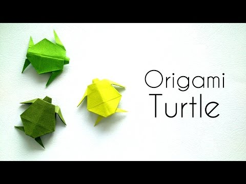 Origami Animals  Tutorial: Origami Turtle