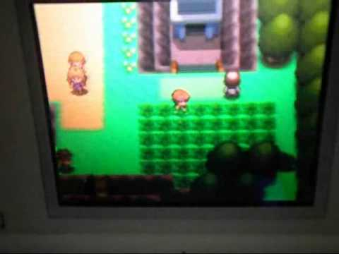 Evolving Feebas into Milotic on Pokemon PEARL