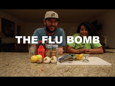 Home Remedy To Boost Your Immune System(Flu/Cold Bomb)