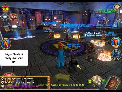 Wizard101: Free Crowns and pet