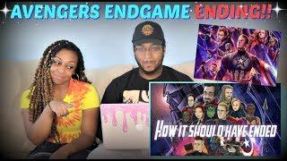 Download Hishe ″How Avengers Endgame Should Have Ended″ REACTION!!! Video
