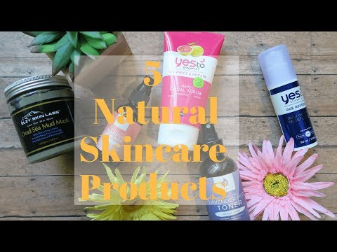 Natural Skincare Routine | 5 Favorite Products