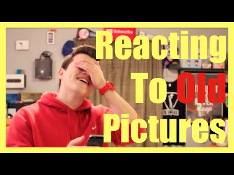 Reacting to My Old Profile Pictures!