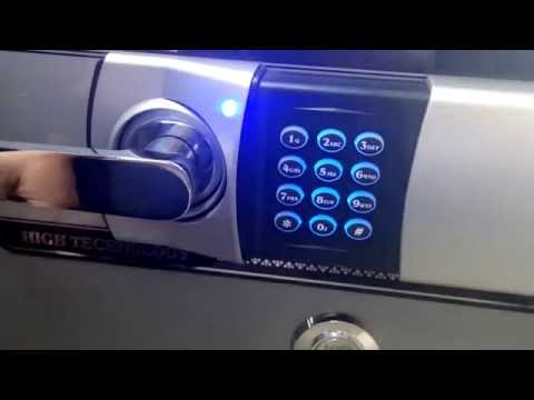 Solid Safe - How to unlock Digital Lock