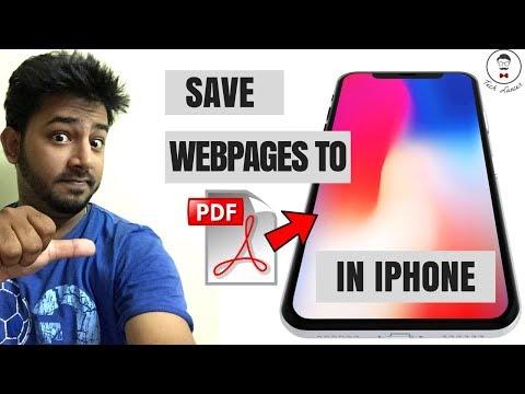 Create PDF on iPhone and iPad 2017 | No 3rd party apps | Save webpages to PDF Trick