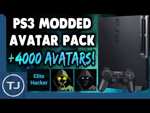 PS3 How To Add 4332 Modded PSN Avatars! (CFW 4.82)