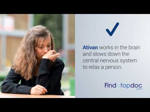 Ativan Drug for Anxiety: Side Effects, Dosage & Uses