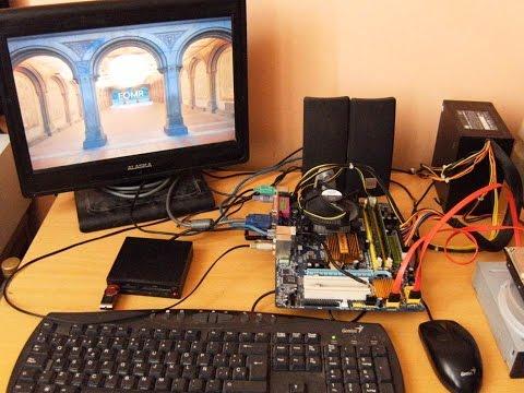 Motherboard Gigabyte GA-G31M-ES2L Micro ATX LGA775 PCI-EX16 HD audio Support Max TDP 130W Windows 10