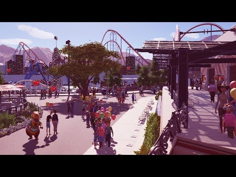 sky ace - planet coaster - PlanCo CityWalk