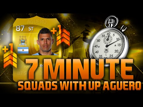 FIFA 15 - 7 MINUTE SQUADS - UPGRADED AGUERO!!! Fifa 15 Hybrid Squad Builder Feat. 87 Aguero
