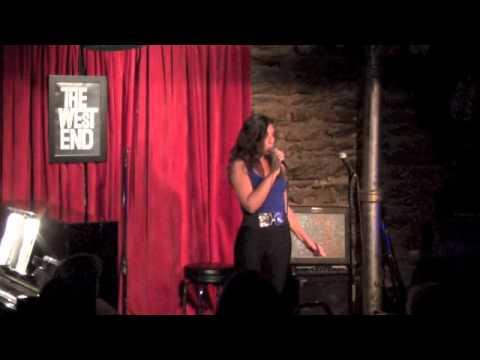Veronica Scorcia singing 'PMS Blues'