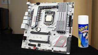 PAINT A MOTHERBOARD (PLASTIDIP) - GUIDE [MOD]