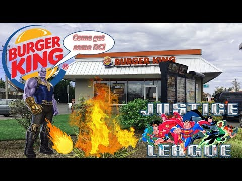 Burger King Justice League Action King Jr Meal | Beach Food Review