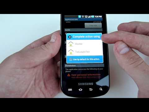 Epic 4G How To: Disable TouchWiz Launcher