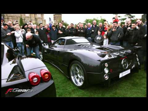 Ferrari Enzo v Pagani Zonda rev off