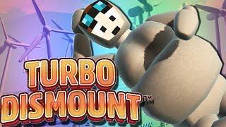 Turbo Dismount   FAT DIVA DAN!!