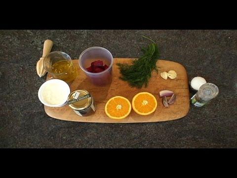 How to Make a Raw Beet Vinaigrette #003