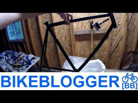 Unboxing Wabi Classic Fixed Gear Frameset! Single Speed Bike Blogger