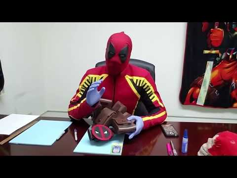 How to Make Cosplay Pouches- Deadpool Pouches