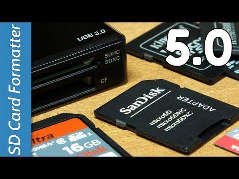 SD FORMATTER 5.0 - NUOVA VERSIONE - Formattare una SD con un paio di click