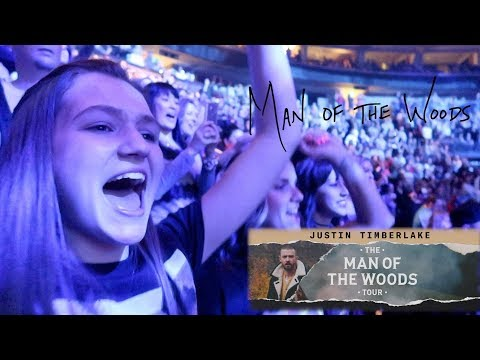FATHER TAKES TEENAGE DAUGHTER TO JUSTIN TIMBERLAKE CONCERT   MAN OF THE WOODS TOUR