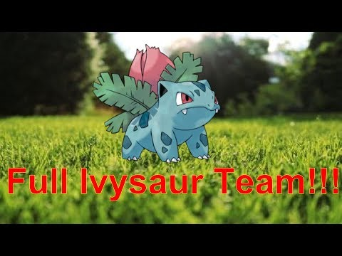 Full Ivysaur Team!!! - Pokémon showdown