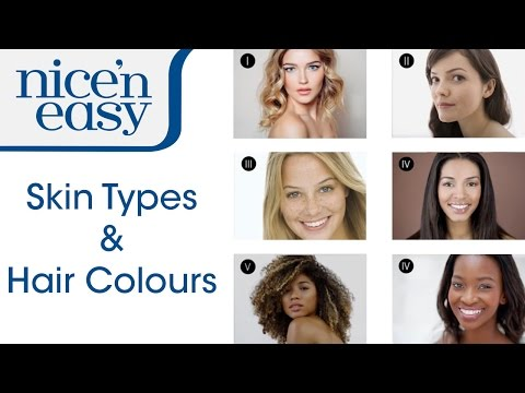 How to Find the Best Hair Colour for Your Skin Tone | Nice 'n Easy