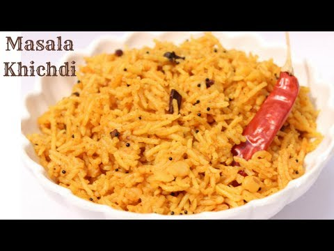 Instant Vaghareli Khichdi Recipe | Toor Dal Khichdi Recipe | How To Make Gujarati Vaghareli Khichdi