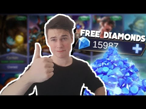 How To GET FREE Diamonds, Skins,Heroes & Much More in Mobile Legends
