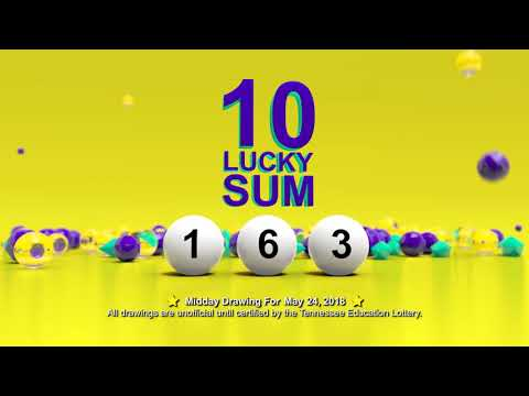 Tennessee Lottery Midday_C3_C4_LS 05/24/2018